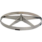 Airmaster Fan Stainless Steel Open Pedestal Base 77001