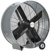 "Airmaster Fan 48"" Portable Belt Drive Mancooler® 60019 1 HP 17173 CFM"