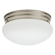 Lithonia Lighting FMMUSL 9 14830 BNP M4 LED Mushroom, 16.5W, 3000 CCT, Brushed Nickel
