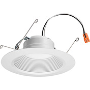 Lithonia Lighting 65BEMW LED 27K M6 LED Recessed Downlight, 2700 CCT, White