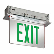 Lithonia Lighting EDGR 1 G EL M4 - LED Edge-Lit Exit Sign Green
