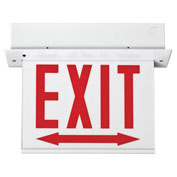 Lithonia Lighting EDGR 1 R EL M4 - LED Edge-Lit Exit Sign Red