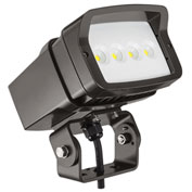 Lithonia OFL1 LED P1 40K MVOLT YK DDBXD M4 OFL Size 1 LED Flood Luminaire