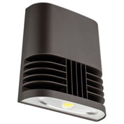 Lithonia Lighting OLWX1 LED 20W 40K M4, LED Wall Pack, 20W 4000 CCT, Bronze