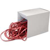 "Alliance® Can Bandz™ Rubber Bands, Medium, 12"" Length, Red, 50/Box"