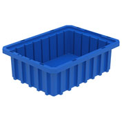 Akro-Mils Akro-Grid Dividable Container 33103 10-7/8 x 8-1/4 x 3-1/2 Blue - Pkg Qty 20