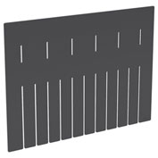 Akro-Mils Short Divider 41222 for Akro-Grid Dividable Grid Containers 33222