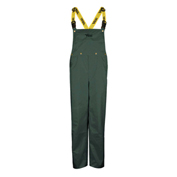 Viking® Journeyman 420D Bib Pants, Green, L, 3305P-L