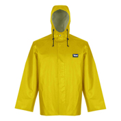 Viking® Journeyman Jacket with Hood, Yellow, XL, 5125J-XL