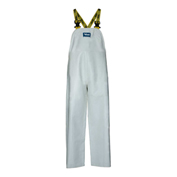 Viking® Journeyman Bib Pants, White, XXXL, 6110P-XXXL