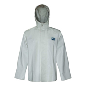 Viking® Journeyman Jacket with Hood, White, M, 6125J-M