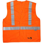 Viking® FR Safety Vest, Orange, 2XL/3XL