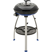 Cadac Carri Chef 2 Outdoor Grill w/ Pot Stand, BBQ Grid & Split Grill/Griddle Plate