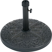Brigantine Iron Umbrella Base, Black
