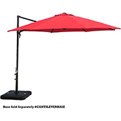 Cantilever 11' Offset Umbrella, Red