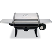 Cuisinart All-Foods Outdoor Tabletop LP Gas Grill w/ Veggie Panel
