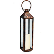 "Cambridge 27"" Classic Outdoor Lantern, Burnished Copper"