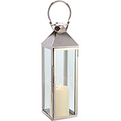 "Cambridge 27"" Classic Outdoor Lantern, Polished Nickel"