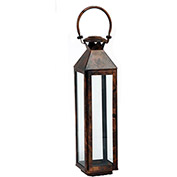 "Cambridge 20"" Classic Outdoor Lantern, Burnished, Copper"