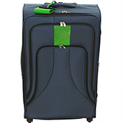 "Cambridge Luggage Cosmopolitan 24"" Upright Spinner, Navy"