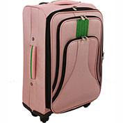 "Cambridge Luggage Cosmopolitan 24"" Upright Spinner, Pink"
