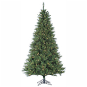 Fraser Hill Farm Artificial Christmas Tree - 6.5 Ft. Canyon Pine - Smart String Lighting