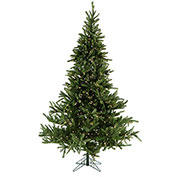 Fraser Hill Farm Artificial Christmas Tree - 12 Ft. Foxtail Pine EZ Connect - Clear LED Lights