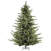 Fraser Hill Farm Artificial Christmas Tree - 9 Ft. Foxtail Pine - Clear LED String Lighting