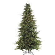 Fraser Hill Farm Artificial Christmas Tree, 7 Ft. Southern Peace, Smart String Clear LED Lights