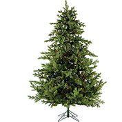 Fraser Hill Farm Artificial Christmas Tree - 9 Ft. Southern Peace Pine - Multi-Color LED Lighting