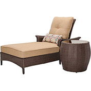 Gramercy 2-Piece Outdoor Chaise Lounge Set