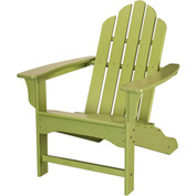 Hanover All-Weather Contoured Adirondack Chair, Lime