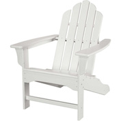Hanover All-Weather Contoured Adirondack Chair, White