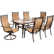 Hanover Monaco 7-Piece Outdoor Dining Set