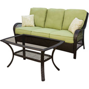 Hanover Orleans 2-Piece Outdoor Patio Set