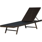 Hanover Orleans Woven Chaise Lounge Chair
