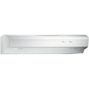 Broan QS130WW Allure 1, 30 Inch Convertible Range Hood, Variable Speed, Light, 220 CFM