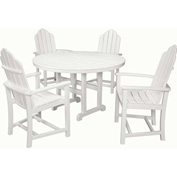 Hanover Siesta Key 5-Piece All-Weather Dining Set