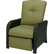 Strathmere Outdoor Reclining Lounge Chair, Cilantro Green