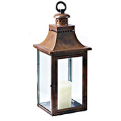 "Cambridge 24"" Traditions Outdoor Lantern, Burnished Copper"