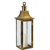 "Cambridge 30"" Traditions Outdoor Lantern, Antique Brass"