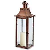 "Cambridge 30"" Traditions Outdoor Lantern, Antique Copper"
