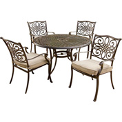 Hanover Traditions 5-Piece Outdoor Dining Set
