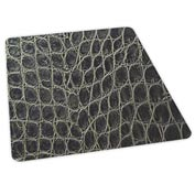 "Aleco® Office Chair Mat for Hard Floor - 36"" x 48"" - Snakeskin Design - Beveled Edge"