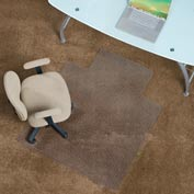 "Aleco® Anti-Static Office Chair Mat for Carpet - 45"" x 53"" with Lip - Straight Edge"