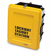 Allegro 4400-L Lockout-Tagout Wall Case