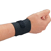 Allegro 7211 Rist-Rap Wrist Support, Black, Pair
