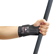 Allegro 7212-02 Dual-Flex Wrist Supports, Black, Medium