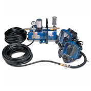 Allegro 9200-02 Full Mask Low Pressure System, 2 Workers,  50' Hose