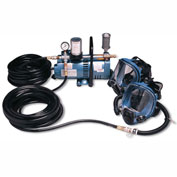 Allegro 9210-02 Full Mask Low Pressure System, 2 Workers, 100' Hose